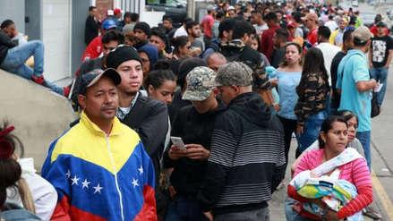 Solo en un día ingresaron más de 5,000 venezolanos por Tumbes