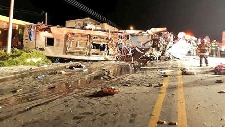 Colombia: Bus accidentado en Ecuador no tenía autorización para viaje internacional