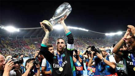 Real Madrid y los ganadores de las últimas cinco Supercopas de Europa