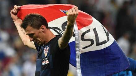 Mario Mandzukic anunció su retiro de la Selección de Croacia