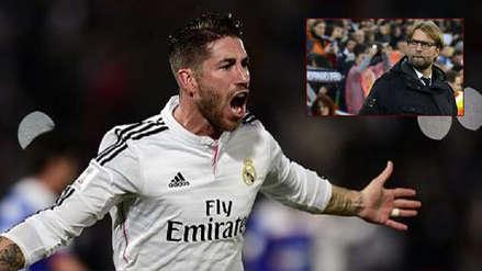 Sergio Ramos disparó contra Klopp: