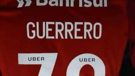 El curioso número de camiseta que Paolo Guerrero lucirá en el Inter de Porto Alegre