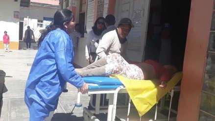 Tres miembros de una familia se intoxican con humo en Huamachuco