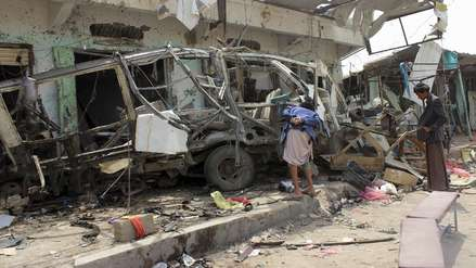 40 niños murieron por un bombardeo contra un bus escolar en Yemen