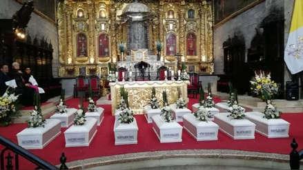 Entregan los restos de 14 desaparecidos durante la guerra interna en Ayacucho
