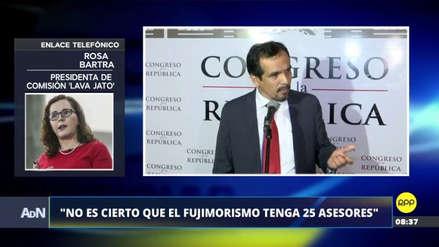 """Bartra negó que se haya ocultado información en Lava Jato: """"Que Morales haga la tarea"""""""