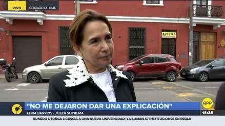 Jueza Elvia Barrios: