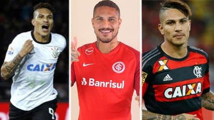 Inter de Porto Alegre: 5 momentos de Paolo Guerrero en equipos brasileños