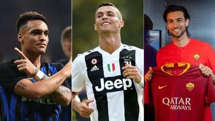 Cristiano Ronaldo: los 10 fichajes más caros de la Liga Italiana