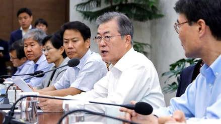 Moon Jae-in propuso a EE.UU. y a países de Asia invertir en Corea del Norte