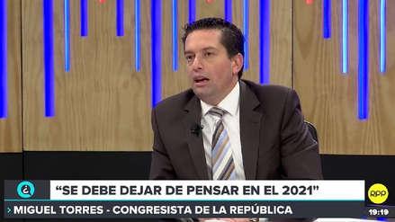 Miguel Torres expresa preocupación por