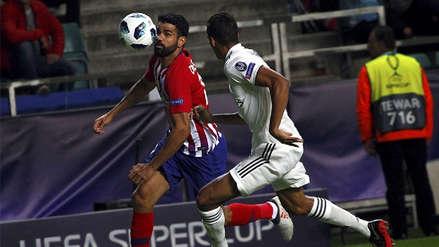 Diego Costa anotó al minuto tras una destacada jugada personal frente al Real Madrid