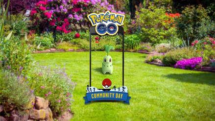 Chikorita es el protagonista del próximo Día de la Comunidad de Pokémon Go