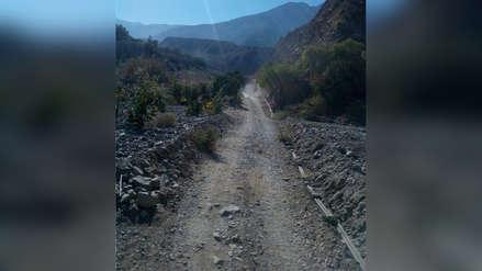 Malestar por pésimo estado de carretera que une a dos provincias