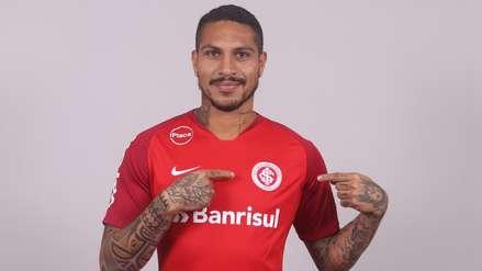 La fecha y rival para el debut de Paolo Guerrero en Inter de Porto Alegre