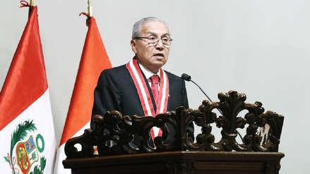Chávarry: No hay motivación política en designación de fiscal implicado en audios para caso cócteles