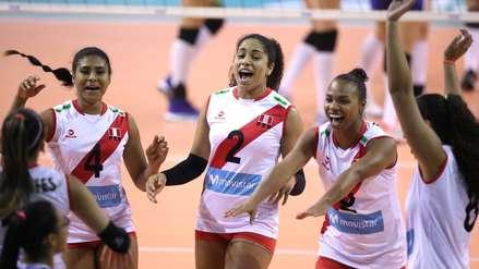 Perú sumó su segundo triunfo en la Copa Panamericana Sub 23 de voleibol