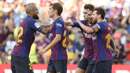 Barcelona derrotó sin problemas a Boca Juniors por el Trofeo Joan Gamper