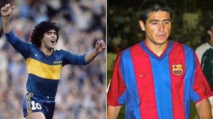Maradona y los argentinos que pasaron por Barcelona y Boca Juniors