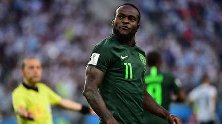 Victor Moses anunció su retiro de la Selección de Nigeria