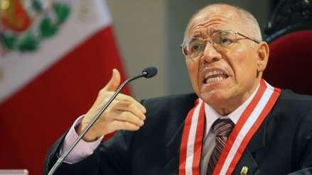 Procurador anticorrupción pide investigar a juez César San Martín por corrupción