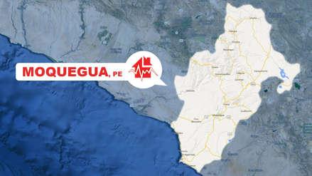 Un sismo de magnitud 3.5 sacudió Moquegua esta noche