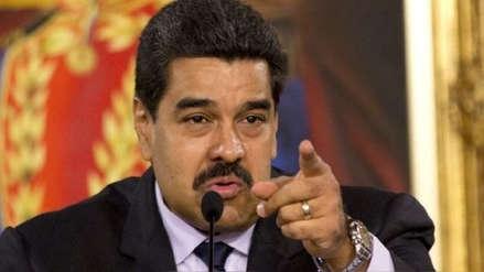 Nicolás Maduro calificó de
