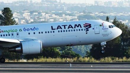 Latam señaló que ningún pasajero ni la tripulación presentó lesiones físicas por  aterrizaje de avión