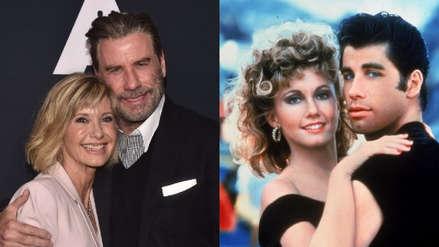 """John Travolta y Olivia Newton-John se reencuentran por los 40 años de """"Grease"""" (FOTOS)"""