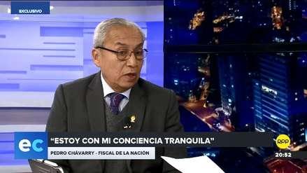 """Pedro Chávarry: Mi hijo """"no tuvo a nadie que lo recomiende"""