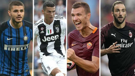 Las estrellas de la Liga Italiana en la temporada 2018/19