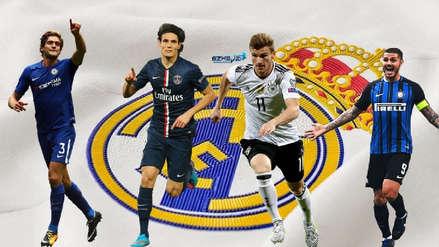 Los opciones que evalúa el Real Madrid antes del cierre del mercado de fichajes