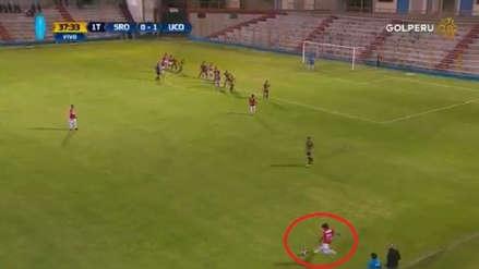Willyan Mimbela se lució con un golazo a lo Ronaldinho ante Sport Rosario