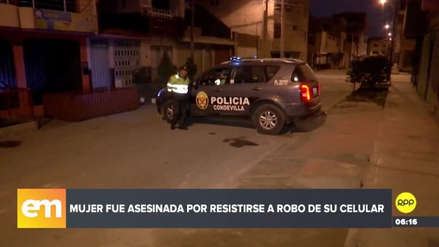 Una mujer fue asesinada tras resistirse al robo de su celular en San Martín de Porres