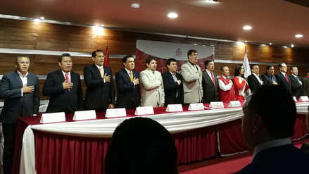 """Candidatos a la gobernación de La Libertad pactan contra la """"guerra sucia"""""""