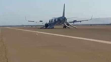 Audio | El diálogo entre el avión que aterrizó de emergencia en Pisco y la torre de control