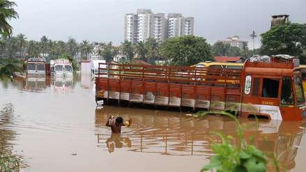 Las lluvias torrenciales han dejado más de 160 muertos en la India
