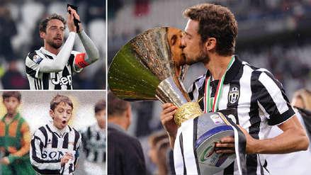 Claudio Marchisio deja la Juventus tras 25 años en el club