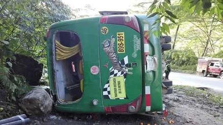 Al menos cinco muertos en un accidente de tránsito en Chanchamayo