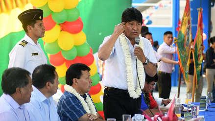 Evo Morales: La bandera de Bolivia