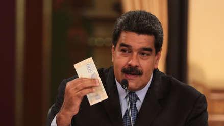 Maduro sube 35 veces el valor del salario mínimo en Venezuela