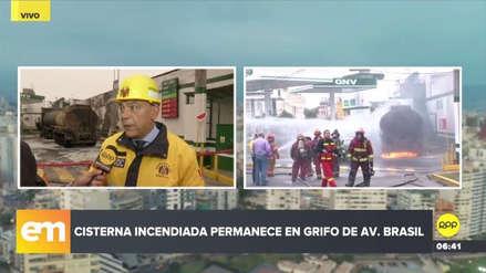 Grifo incendiado: Municipio de Lima le dio licencia de funcionamiento tras autorización de Osinergmin