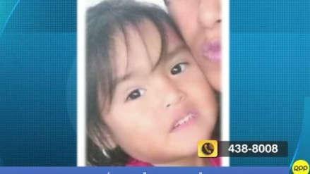 Padre de niña desaparecida: