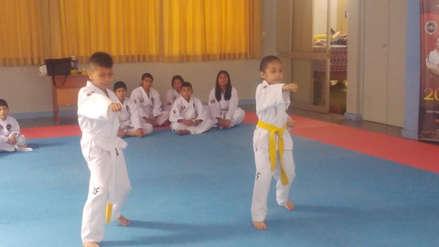 Niños chiclayanos viajarán a Chile para participar de torneo de Taekwondo