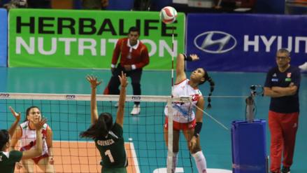 Perú venció a México y jugará la final de la Copa Panamericana Sub 23 de voleibol