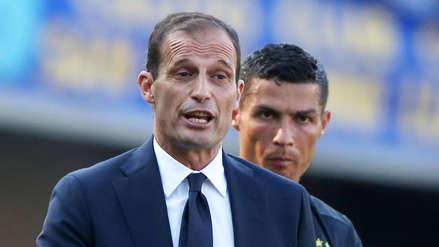 Allegri destacó el trabajo de Cristiano Ronaldo para el triunfo de la Juventus