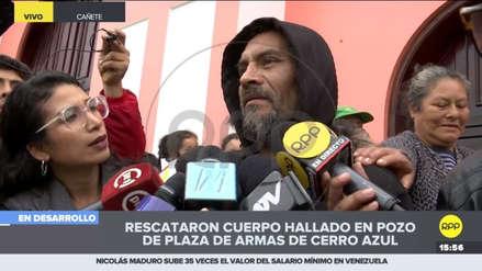 El testimonio del hombre que halló cuerpo de niña en  pozo de Cerro Azul