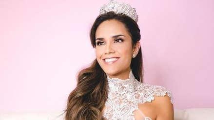 Estefani Mauricci perdió su corona y no representará al Perú en el Miss World 2018