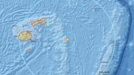 Terremoto de 8.2 de magnitud y réplica de 6.2 sacudieron el Pacífico cerca de Fiyi