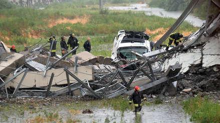 Génova   Una madre permaneció junto a los escombros del puente hasta encontrar a su hijo